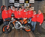 Ivan Lazzarini e il suo team L30 Racing pronti per la Supermoto Series 2015